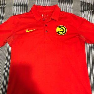 NWOT NBA Atlanta Hawks Polo Shirt